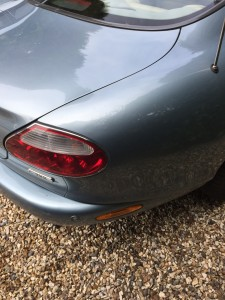 DentSmart Ltd customer dent repair - Jaguar XK8 C