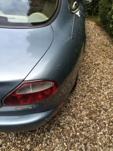DentSmart Ltd customer dent repair - Jaguar XK8 D