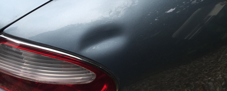 Jaguar XK8 Dent Repaired