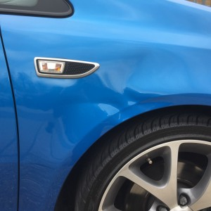 Corsa VXR paintless dent repair