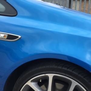 Corsa VXR dent repair after